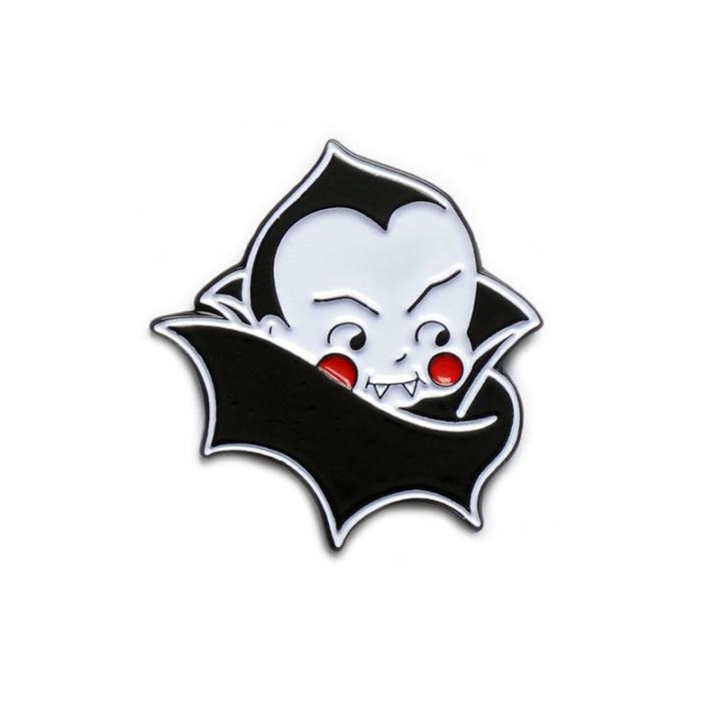 Yesterdays Enamel Pin (Dracula by Show Pigeon)