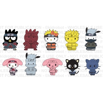 [PREVENTA] NARUTO X HELLO KITTY 1.5