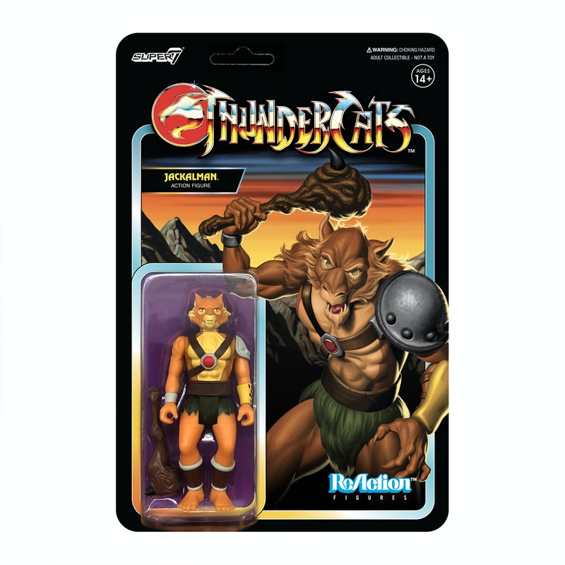 Thundercats ReAction Figure Wave 1 - Jackalman