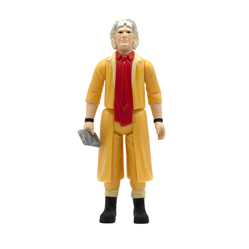 [ABONO] Back to the Future 2 ReAction Figure Wave 1 - Doc Brown Future