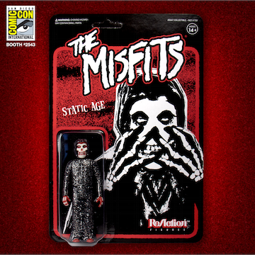 Misfits ReAction Figure - Fiend Static Age (SDCC 2019 Exclusive)
