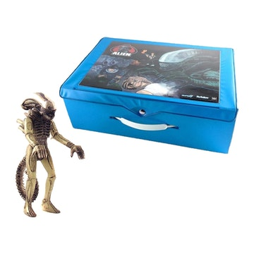 Alien ReAction Figure Carry Case With Big Chap (GID)