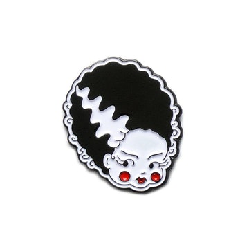 Yesterdays Enamel Pin (Bride by Show Pigeon)