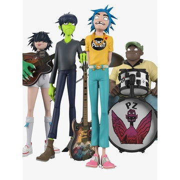 [PREVENTA] Superplastic x Gorillaz Song Machine (Complete Set)