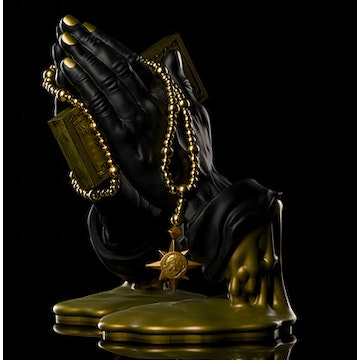 Black & Gold Let Us Pray 12