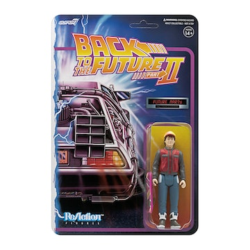[ABONO] Back to the Future 2 ReAction Figure Wave 1 - Marty McFly Future copia