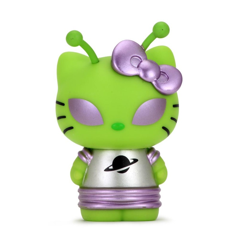 "Hello Kitty Time to Shine 3"" Figure (Alien)"