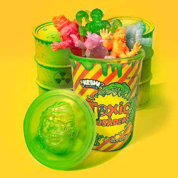 Toxic Crusaders Keshi - Trash Can