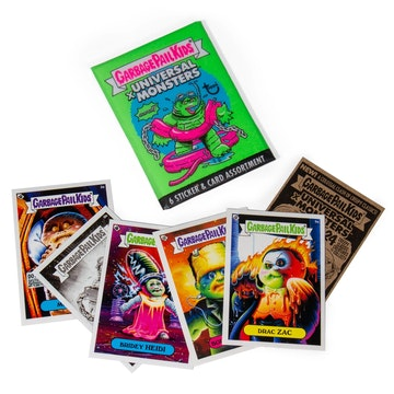 Garbage Pail Kids x Universal Monsters Wax Pack Green (Blind Box)