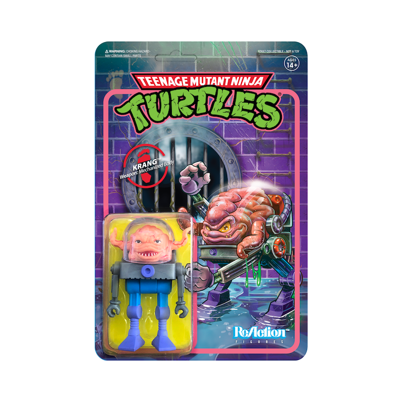 Teenage Mutant Ninja Turtles ReAction Figure Wave 2 - Krang