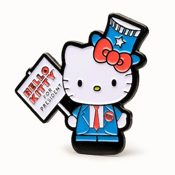 "Hello Kitty Time to Shine 1.5"" Pin (Prez)"