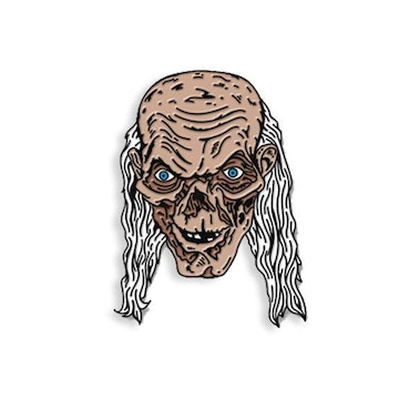 Yesterdays Enamel Pin (Crypt Keeper)