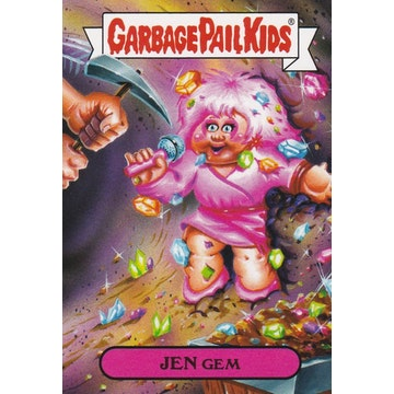 Garbage Pail Kids '80s Cartoons Card (Jen Gem)
