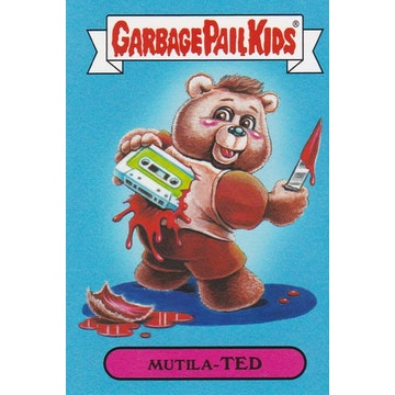 Garbage Pail Kids '80s Toys Card (Mutila-Ted)