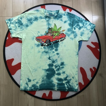 Slow Your Roll Dyed Tee