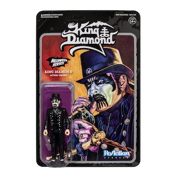 King Diamond ReAction Figure - Top Hat