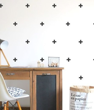 Wall stickers signo positivo