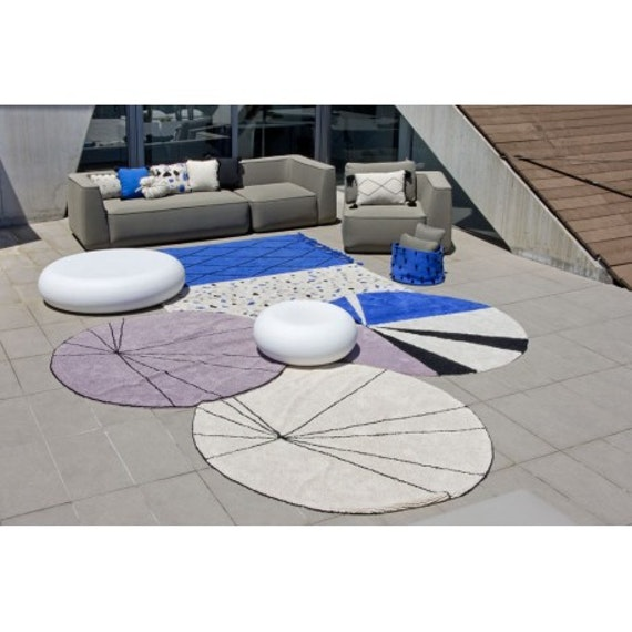 Alfombra Trace Wood Rose
