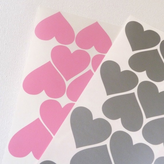 Wall stickers corazones