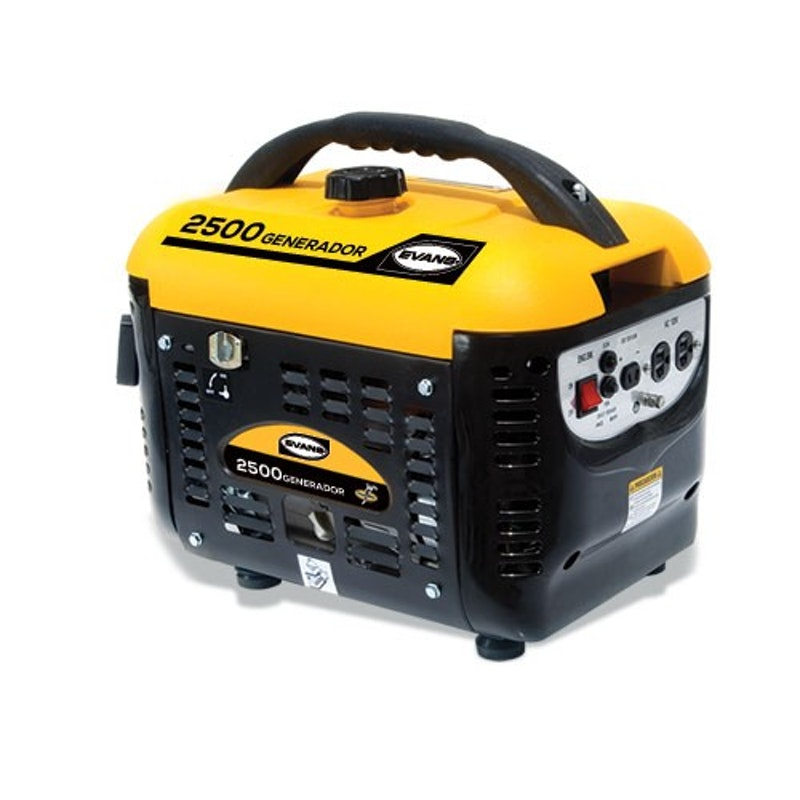 Generador a Gasolina Evans 2500 Watts Portatil  110V Motor 4 Hp  G25MG0400TH