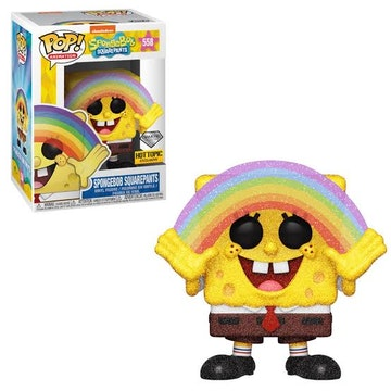 Funko Diamond Hot Topic Exclusive Spongebob Squarepants