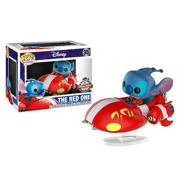 Funko Pop Rides Special Edition Stitch on Red One