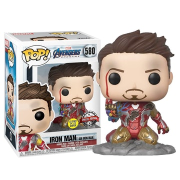 Funko PX Exclusive I Am Ironman (Glows in the dark)