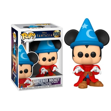 Funko Pop Sorcerer Mickey 990 Fantasia