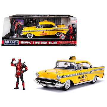 Jada Toys - Hollywood Rides - Deadpool's 1957 Chevy Bel Air Cab
