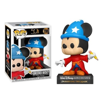 Funko Pop Sorcerer Mickey 799 Fantasia