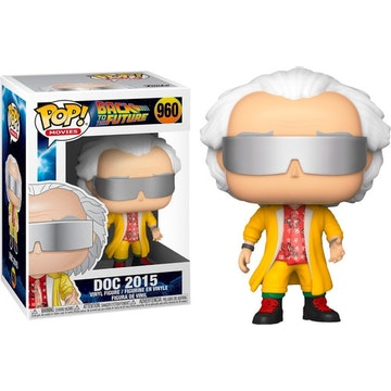 Funko Pop Doc 2015 Outfit Back to the Future 2