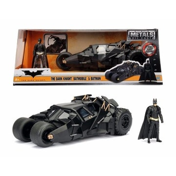 Jada Toys - Hollywood Rides - The Dark Night Batmobile 1:24