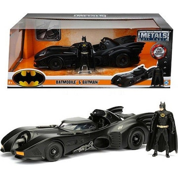 Jada Toys - Hollywood Rides - Batmobile Original 1989