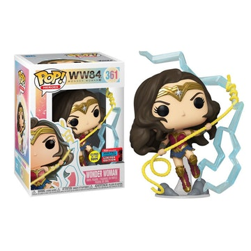 Funko Pop Convention Limited Edition Wonder Woman Glows in the Dark