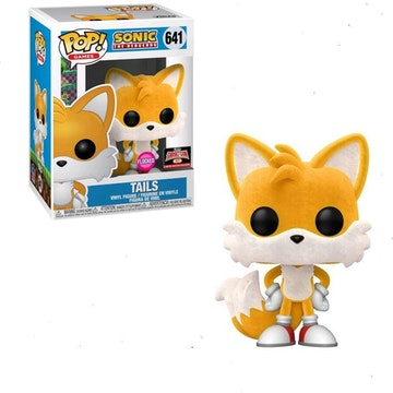 Funko Pop Target-Con Exclusive Tails Flocked