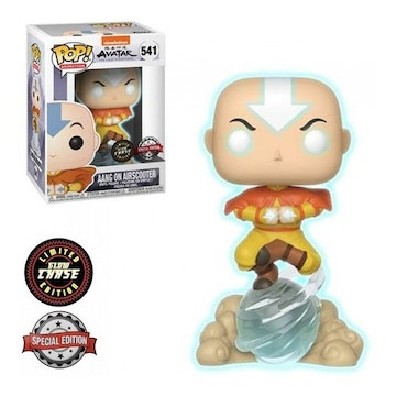 Funko Pop - Chase - Aang on Air Scooter