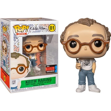 Funko Pop Convention Limited Edition Keith Haring