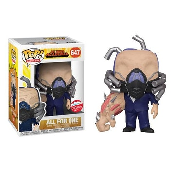 Funko Pop Fugitive Toys Exclusive All For One 647