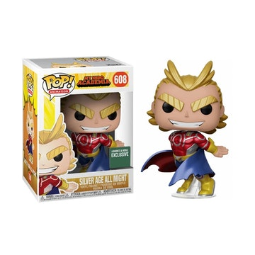 Funko Pop Barnes & Noble Metallic Silver Age All Might