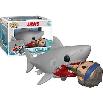 Funko Moments Limited Edition Shark Biting Quint.