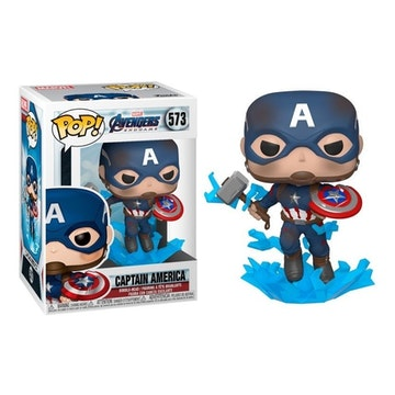 Funko Regular Captain America w/ Broken Shield