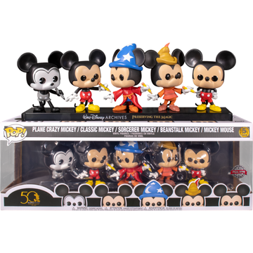 Funko Pop Special Edition Mickey 5pack Set