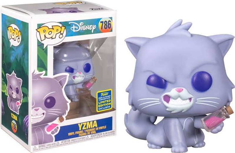 Funko Pop Limited Edition Convention Exclusive Yzma as cat