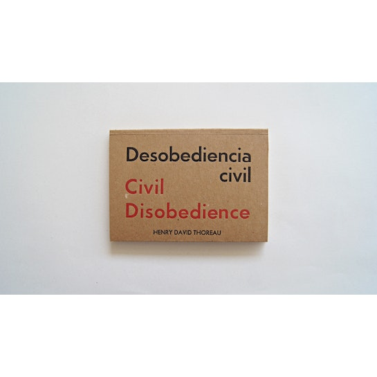 Desobediencia civil de Henry David Thoreau