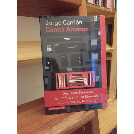 Contra Amazon de Jorge Carrión