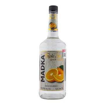 Licor Madka Licor de Triple Sec 1000ml