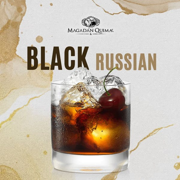 Coctel Black Russian