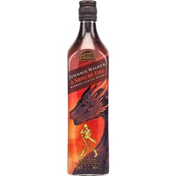 Whisky Johnnie Walker A Song Of Fire 750ml