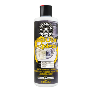 HEADLIGHT RESTORER AND PROTECTANT