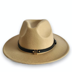 Colo, sombrero color camel